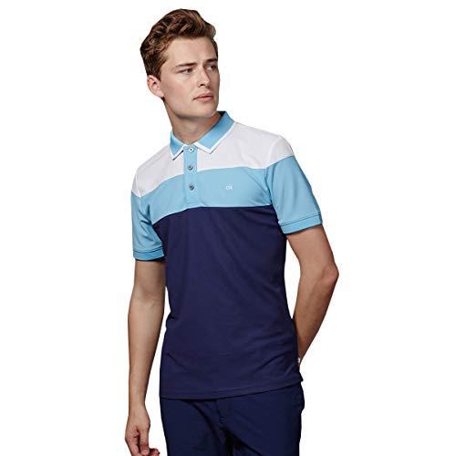 Calvin Klein Herren Arinox Polo-Hemd - Marine - XXL -