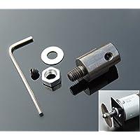 Winwill 8mm Acoplador del eje del motor Manga Sierra de la sierra Acoplamiento del adaptador del tirador de la sierra
