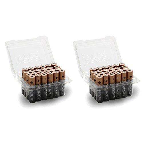 Vorteilspack 48x DURACELL PLUS POWER Batterie AAA / Micro Batterien in WEISS - more power + Blisterbox - 48 Batterien Aaa