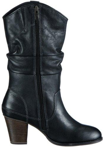 Tamaris 1-1-25312-21 Damen Cowboy Stiefel Schwarz (Black 001)