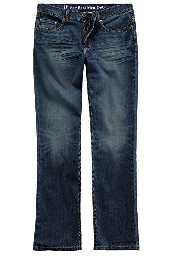 JP 1880 Große Größen Herren Straight Jeans Jeanshose, Saddle Stitch, Superstretch N, Blau (Fashion Denim 94), W46/L36 (Herstellergröße: 62)