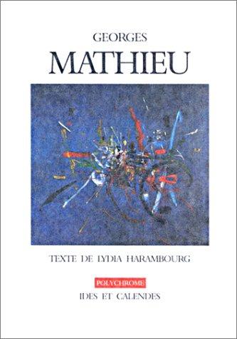 Georges Mathieu (livre non massicoté)