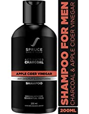 Spruce Shave Club Charcoal Shampoo For Men with Apple Cider