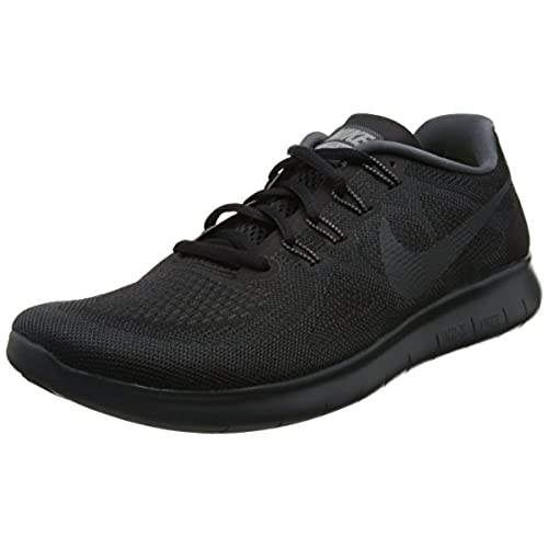 Free Run, Chaussures de Running Compétition Femme, Blanc (White/Black), 35.5 EUNike