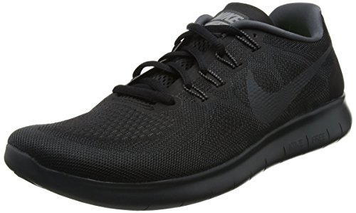new photos 1ef4a fe49f Nike Men s Free Rn 2017 Competition Running Shoes, Black  (Black anthracite-dark