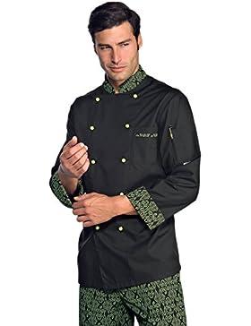 Cocinero Negro Montreal Blanco/Oro/verde