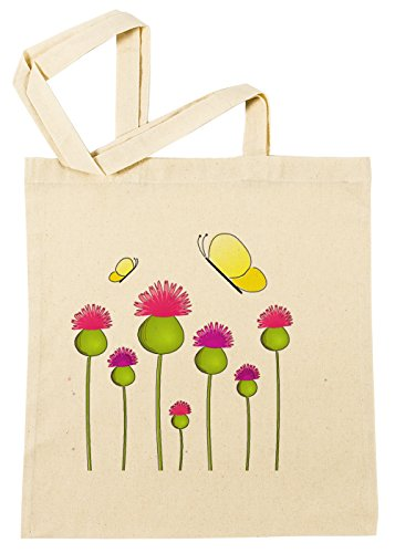 Erido Anemone Einkaufstasche Wiederverwendbar Strand Baumwoll Shopping Bag Beach Reusable (Anemone Bag)
