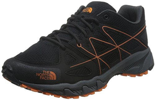 The North Face Storm MS - Chaussures - noir 2017 TNF Black/Exuberance Orange