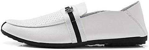 Mocasines para Caminar Los Zapatos Ocasionales de los Guisantes Antideslizantes Respirables de los Hombres del...