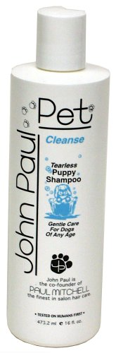 john-paul-pet-tearless-puppy-kitten-shampoo-16-ounce-by-john-paul-pet