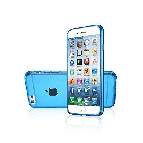 Avcibase Slim TPU Silikon durchsichtige vollfarbige Schutzhülle für Apple iPhone 6 (11,9 cm (4,7 Zoll), 0,3mm) grün Blau