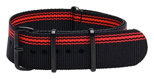 20-mm-de-haute-qualite-en-nylon-nato-pvd-motif-rayures-noir-rouge-ducati-interchangeables-sangle-de-
