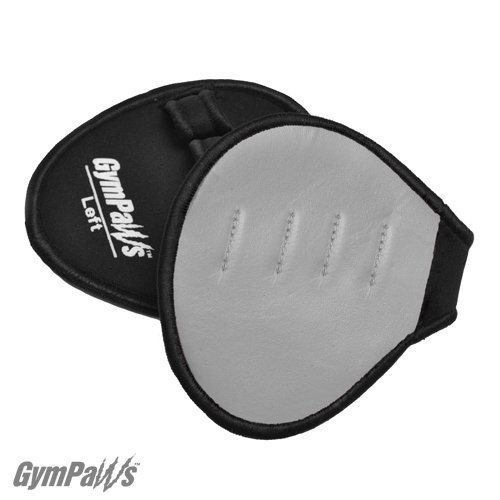 La Nouvelle Alternative aux Gants de Musculation – Gants de CrossFit (entraînement physique croisé) en CUIR – Poignées d'entraînement (Gris)