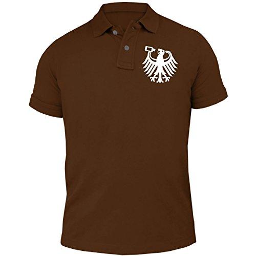 Männer und Herren POLO Shirt Is mir egal ich trink das jetzt noch Braun