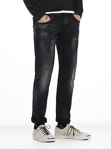 Scotch & Soda Herren Straight Jeans Tye-Sander Blau (Sander 1367)