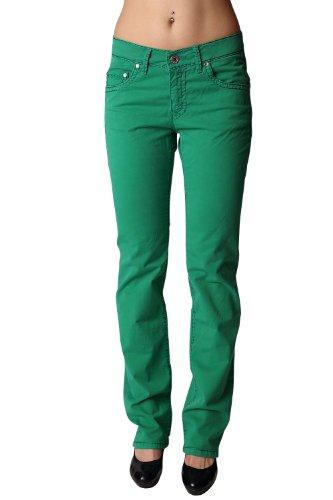 0 Damen Stretch-Sommerhose Sally grün: Weite: D-34 | Länge: L32 (Pioneer 170)