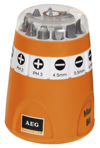 Preisvergleich Produktbild AEG 4932399493 Maxi-Bit Box, 10-teilig