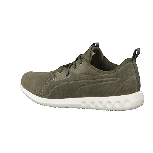 Puma Unisex-Erwachsene Carson 2 Molded Suede Outdoor Fitnessschuhe Grün (Olive Night-WHISPER White)