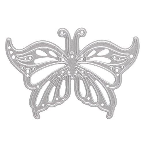 scastoe Metall Schmetterling Formen Schablonen für Heimwerker Scrapbooking Fotoalbum Decor (5 Cm Anzahl Schablonen)
