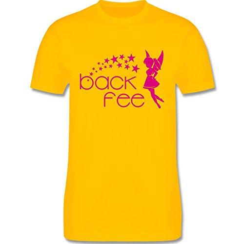 Küche - Back Fee Sterne - Herren Premium T-Shirt Gelb