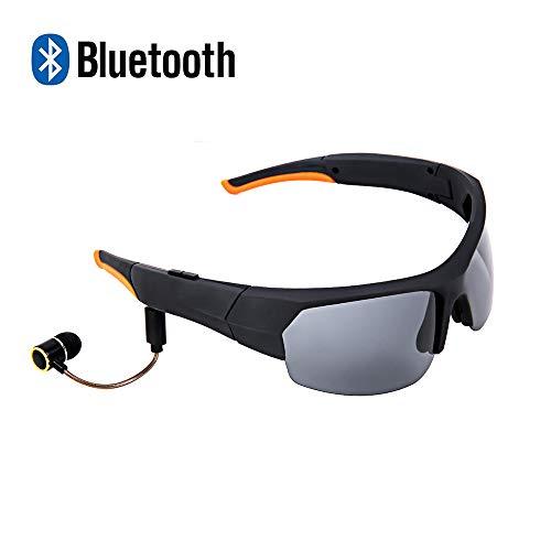 ANLW Bluetooth-Kopfhörer Polariisierte Gläser Intelligente Sonnenbrille Stereo-Musik mit Mic Hand-Free Sports Brille