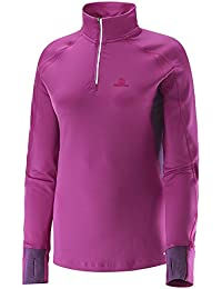 Salomon Trail Runner Warm Women's 1/2 Zip T-shirt Course à Pied