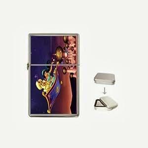 Aladdin Flip Top Lighter and Case Box