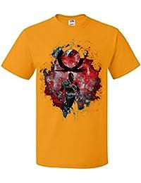 Palalula Hombre Kratos God of War Darkness Camiseta t Shirt Tribute T-Shirt