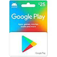 Google Play gift card - give the gift of games, apps and more - UK only - delivered by post