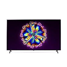 LG 75NANO906NA 189 cm (75 Zoll) NanoCell Fernseher (4K, Triple Tuner (DVB-T2/T,-C,-S2/S), Dolby Vision, Dolby Atmos, Cinema HDR, 100 Hz, Smart TV) [Modelljahr 2020]