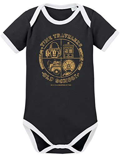 TShirt-People TSP All Time Travellers Kontrast Baby Body 74 ()