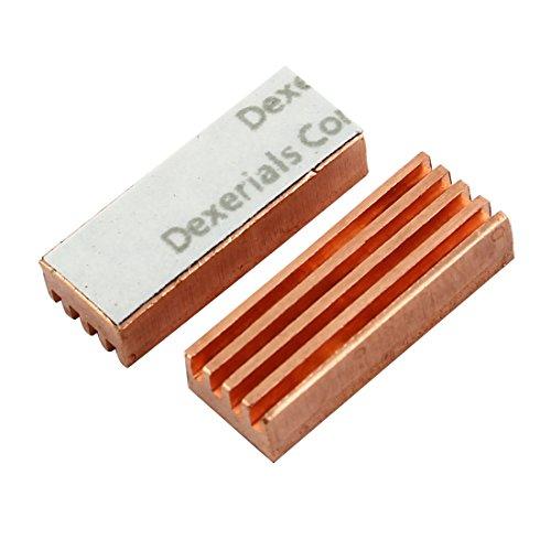 PC Computer MC-200 Kupfer Kühler Kühlkörper für DDR DDR2 DDR3 RAM de