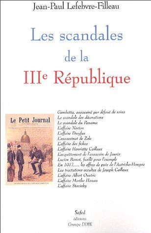 Les scandales de la IIIe République