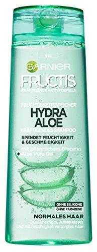 Garnier Fructis Hydra Aloe Kräftigendes Shampoo Feuchtigkeitsspeicher (3 x 300ml)