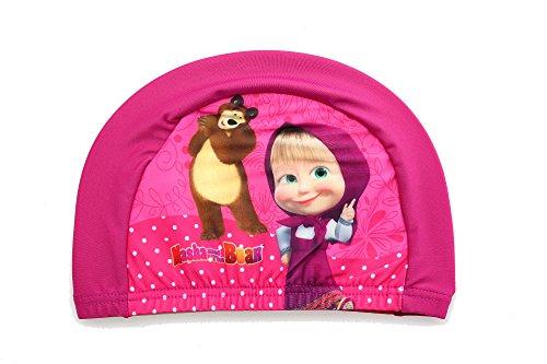 Masha und der Bär Badekappe für Kinder