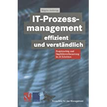 IT-Prozessmanagement effizient und verständlich: Projekterfolg und Qualitätsverbesserung in 24 Schritten (Know-how für das Management) (German Edition) (XKnow-how für das Management)