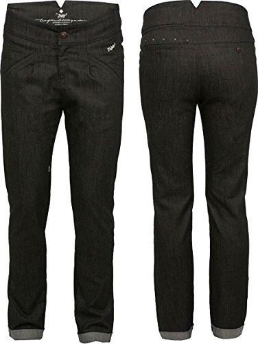 Fahrrad Jeans - BUEX Damen - triple2 (Black Denim, S)
