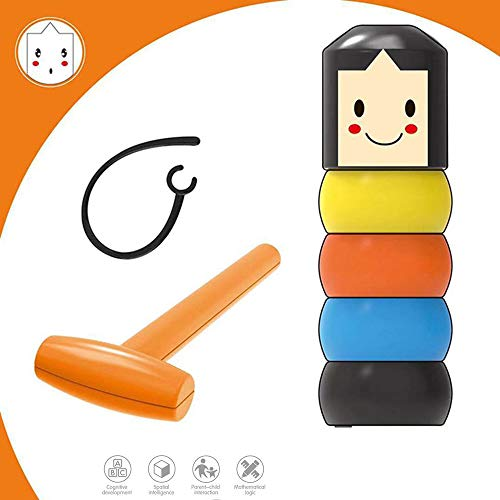 Douerge Cartoon Man Tumbler Doll & Roly-Poly
