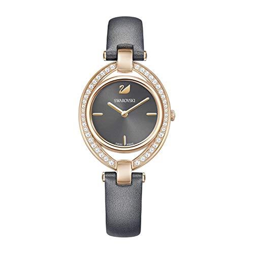 Swarovski Damen-Uhren Analog Quarz One Size Leder 87434613