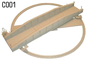 Dapol Model Railway Turntable Plastic Kit - OO Scale 1/76
