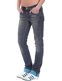 Adidas Originals-Jean W Cupie Skinny Femme Bleu V30072