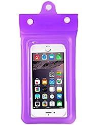 KUN PENG SHOP Écran tactile universel (6plus / millet / Meizu) téléphone de natation sac étanche ensembles de plongée A+