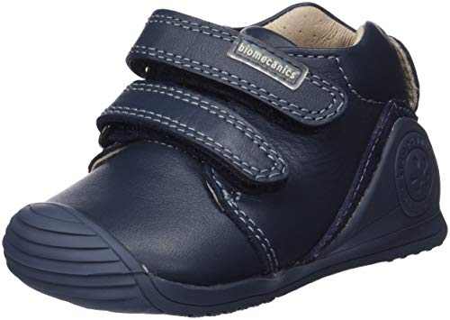 Biomecanics 161141, Zapatillas de Estar por casa para Bebés 161141/A/Amz Azul Marino (Sauvage), 21 EU