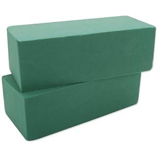Floracraft Artesia Wet Foam Blocks Set, Multi-Colour, 22.73 x 15.24 x 9.7 cm