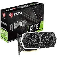MSI GeForce RTX2070 Armor 8GB DDR6 Schwarz/Grau