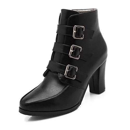 Unknown 1to9mns02544 - Sandales Compensées Pour Femmes, Noir