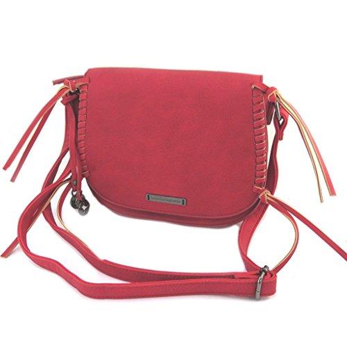 Lulu Castagnette [P2114] - Schöpfer bag \'lulu kastagnetten rot - 24x21x7 cm.