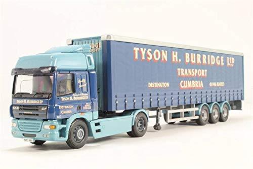 Unbekannt DAF CF 4x2 + Curtainside Semitrailer 'Tyson H. Burridge Ltd' - 1:50 - Corgi