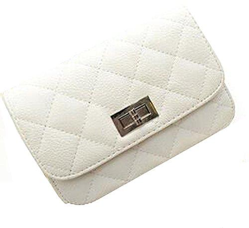 WiTa-Store, Borsetta da polso donna bianco H140 H140