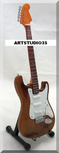 RORY GALLAGHER Miniatur Gitarre Fender Strat